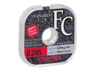 Fluorocarbon Owner Tournament 0,245mm /50m/4,09kg