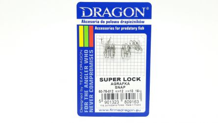 Agrafka Dragon Super Lock #12