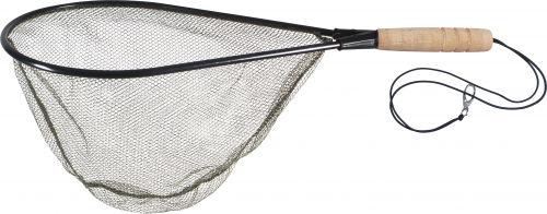 Landing net of trout DRAGON with cork handle