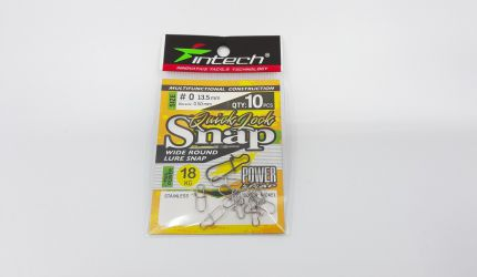 Intech Quick lock snap #0 13.5mm