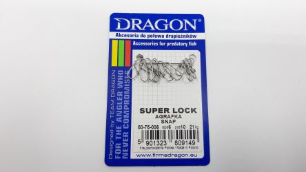 Agrafka Dragon Super Lock #22