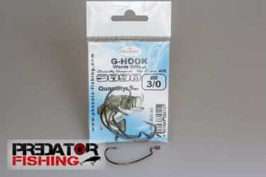G-Hook Worm Offset #3/0 - 1szt.