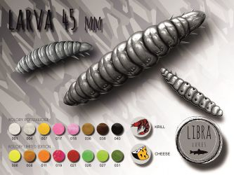Libra Lures-Larva 45mm Kryl